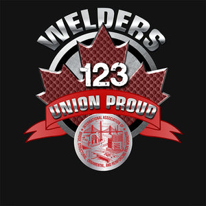 IW Welders Round Canada Apparel