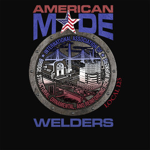 IW Welders Round America Apparel
