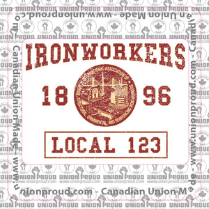 Ironworkers College Union Decal