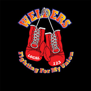 IW Welders Fighting For My Union Apparel