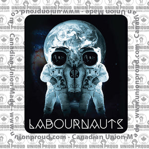 Blue Labournauts Decal