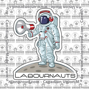 Cartoon Labournauts Decal
