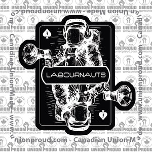Labournauts Card Decal