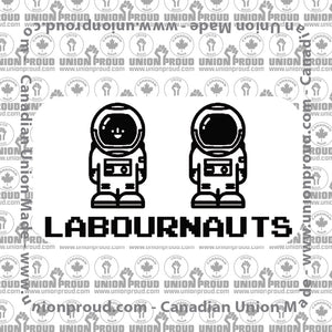 Labournauts 8-Bit Decal