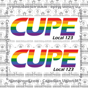 CUPE Pride Decal