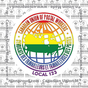 CUPW Pride Decal