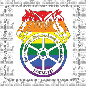 Teamsters Pride Decal
