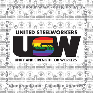 USW Pride Decal