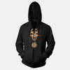Sheet Metal Skull Medallion Union Apparel