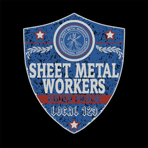 Sheet Metal Workers Blue Badge Apparel