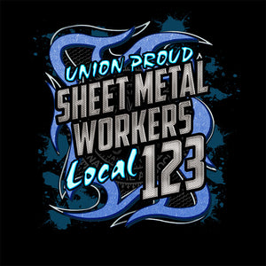 Sheet Metal Blue Metal Union Apparel