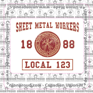 Sheet Metal College Union Decal