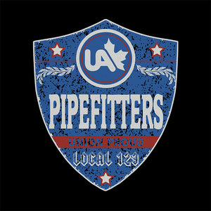 UA Pipefitters Blue Badge Apparel