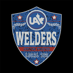 UA Welders Blue Badge Apparel
