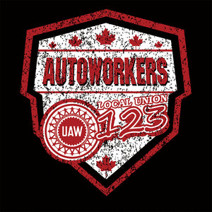 Autoworkers Canada Shield Union Apparel