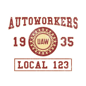 Autoworkers College Union Apparel