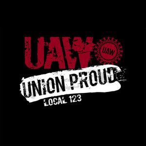 UAW Union Proud Splatter Apparel