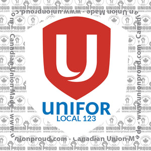 UNIFOR Basic Logo Union Decal