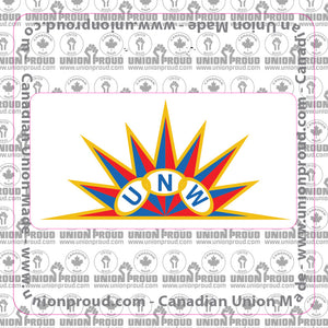 UNW Logo Decal
