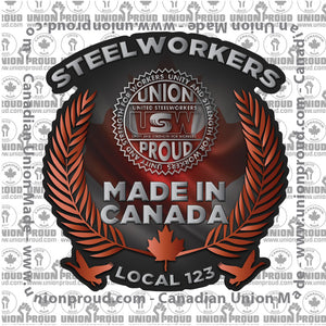 USW Canadian Decal