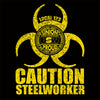 USW Steelworkers Biohazard Union Decal