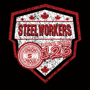 USW Steelworkers Canada Shield Union Apparel