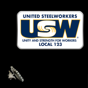 USW Basic Logo Lapel Pin