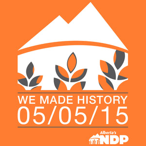 We Made History Logo
