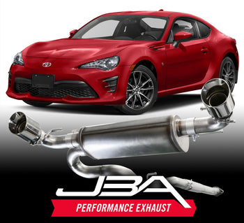 JBA Performance Exhaust Releases Toyota FT86, Scion FR-S, Subaru BRZ Cat-Back Exhaust System