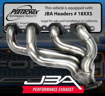 JBA CAT4Ward Headers Offer 50-State Legal Horsepower
