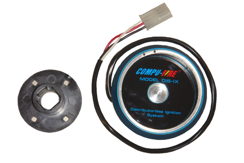Compu-Fire 11100-B - DIS-IX Distributorless Ignition System with Blue Plug Wires for BOSCH 009 Distributor