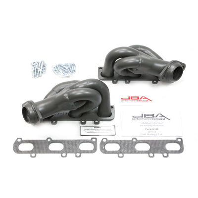 JBA Performance Exhaust 1618SJT Header Shorty Stainless Steel 11-17 Mustang 3.7L V6 Titanium Ceramic