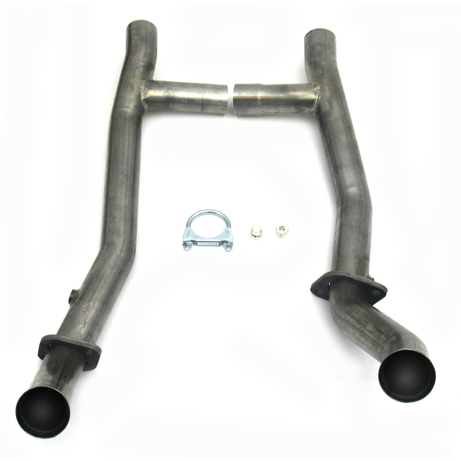 "JBA Performance Exhaust 1651SH 2.5"" Stainless Steel Mid-Pipe H-Pipe for 1650, 289/302, T-5 Transmission"