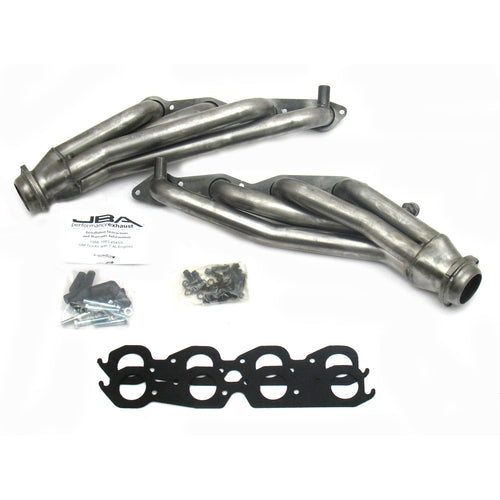 "JBA Performance Exhaust 1823S 1 3/4"" Header Shorty Stainless Steel 96-00 GM Truck 7.4L"