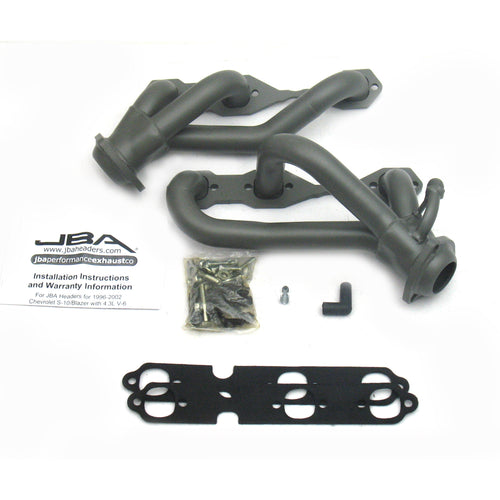 "JBA Performance Exhaust 1842S-3JT 1 1/2"" Header Shorty Stainless Steel 96-01 Blazer/Jimmy 4.3L 4 Wheel Drive Titanium Ceramic"