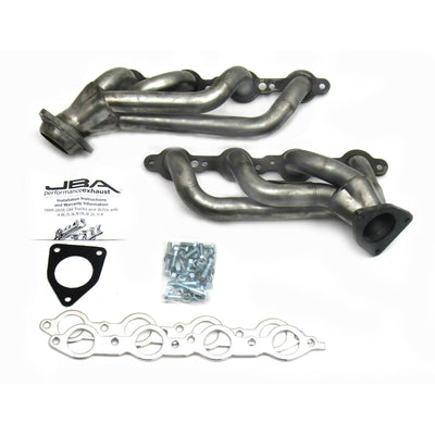 "JBA Performance Exhaust 1850S-2 1 5/8"" Header Shorty Stainless Steel 02-2013 GM Truck/SUV 4.8/5.3L and 07-13 6.0/6.2L"