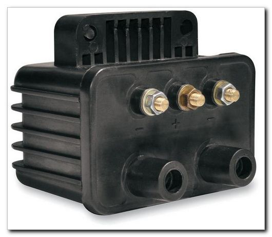 Spyke 447010 - Single Fire Coil with 3 Ohms Resistance for 70-98 Big Twin and 72-01 Sportster® Harley® Models