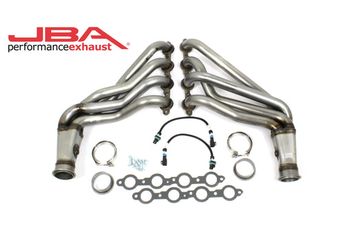 "JBA Performance Exhaust 36813SN 1 7/8"" Header Long Tube ""304 Series"" Stainless Steel 10-15 Camaro SS,ZL1 Natural finish"