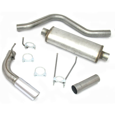 "JBA Performance Exhaust 40-1535 3"" Stainless Steel Exhaust System 06-18 Ram Quad Cab 5.7L Hemi"