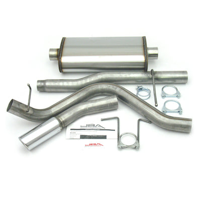 "JBA Performance Exhaust 40-2520 3"" Stainless Steel Exhaust System 01-03 Super Crew 4.6/5.4L"