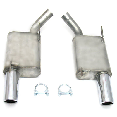 "JBA Performance Exhaust 40-2627 2.5"" Stainless Steel Exhaust System 05-10 Mustang GT Axle Back"