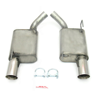 "JBA Performance Exhaust 40-2629 2.5"" Stainless Steel Exhaust System 05-10 Mustang GT 2 1/2"" with 4"" Tip"