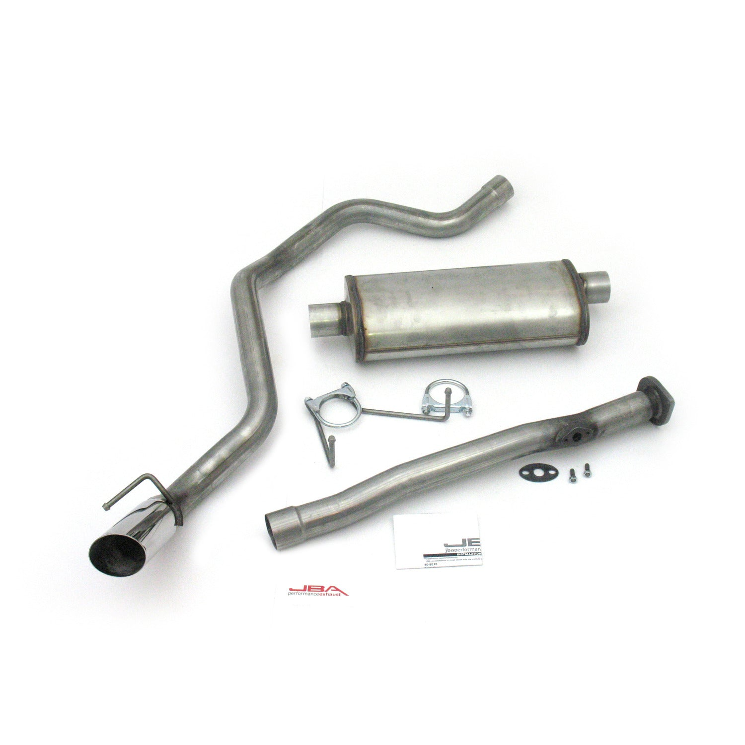 "JBA Performance Exhaust 40-9010 2 1/4"" Stainless Steel Exhaust System 96-98 4Runner 2.7/3.4L 2/4 Wheel Drive"