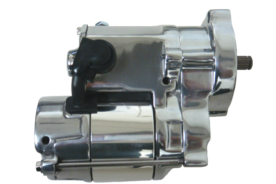Spyke 400115 - Polished 1.4 kW Starter for 89-93 Big Twin Harley® Models (Except FLT)