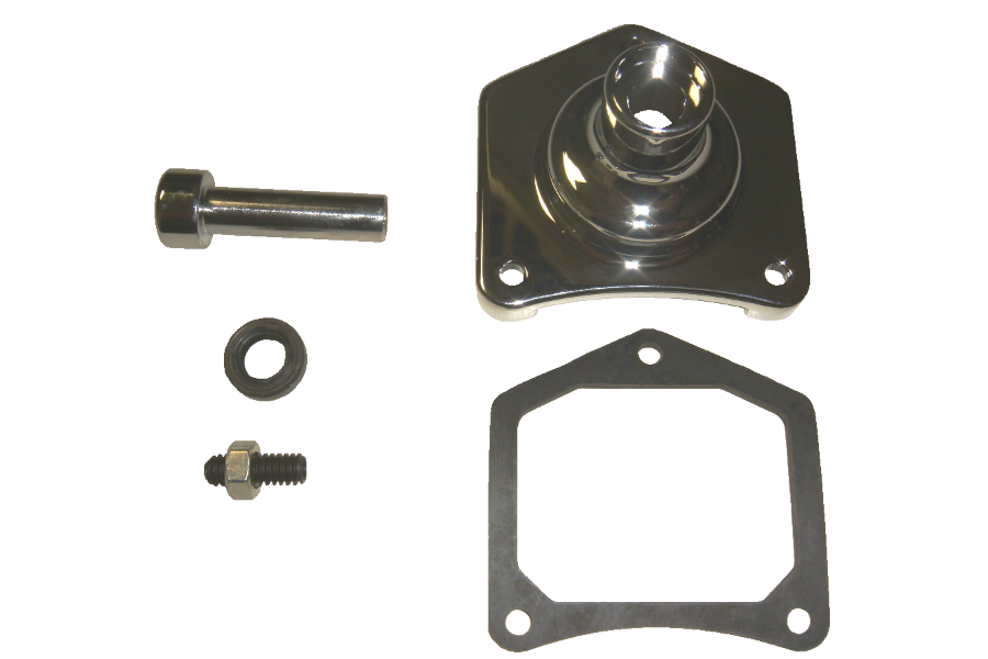 Spyke 400117 - Chrome Starter Button Kit for 1.2 & 1.4 kW Starters