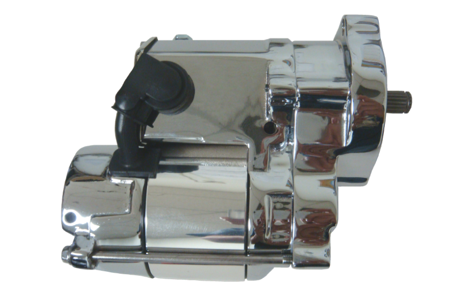 Spyke 400215 - Chrome 1.4 kW Starter for 89-93 Big Twin Harley® Models (Except FLT)