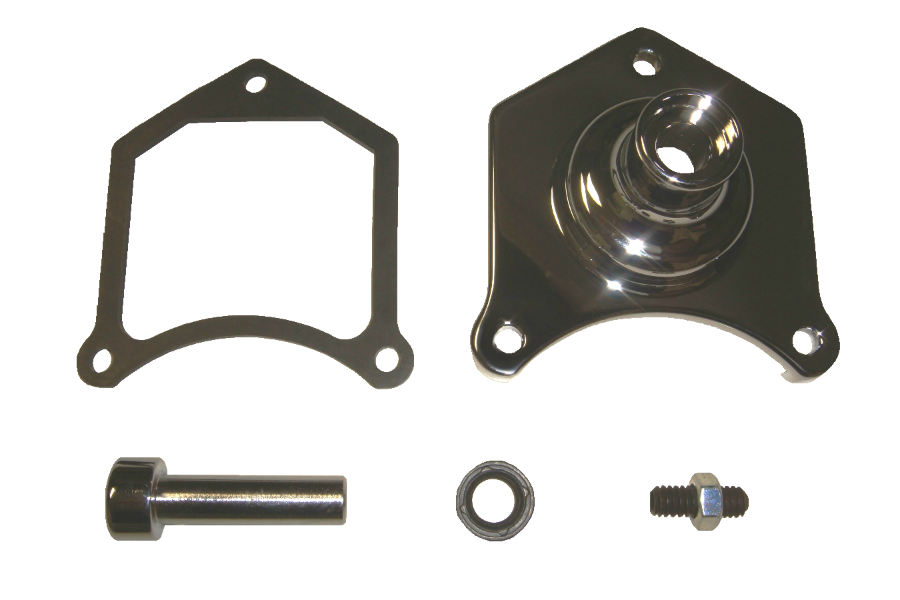Spyke 400217 - Chrome Starter Button Kit for 1.0/2.0/2.4/2.6 kW Starters