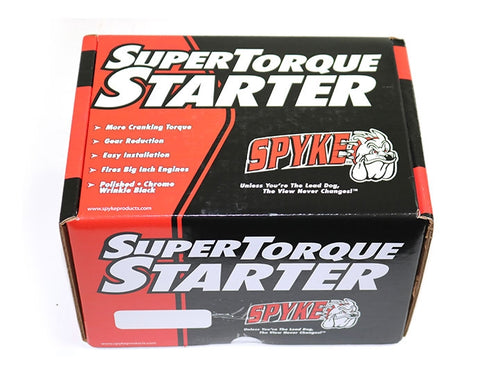 Spyke 404215 - Chrome 1.4 kW Starter for 94-06 Big Twin Harley® Models (Except 2006 Dyna)