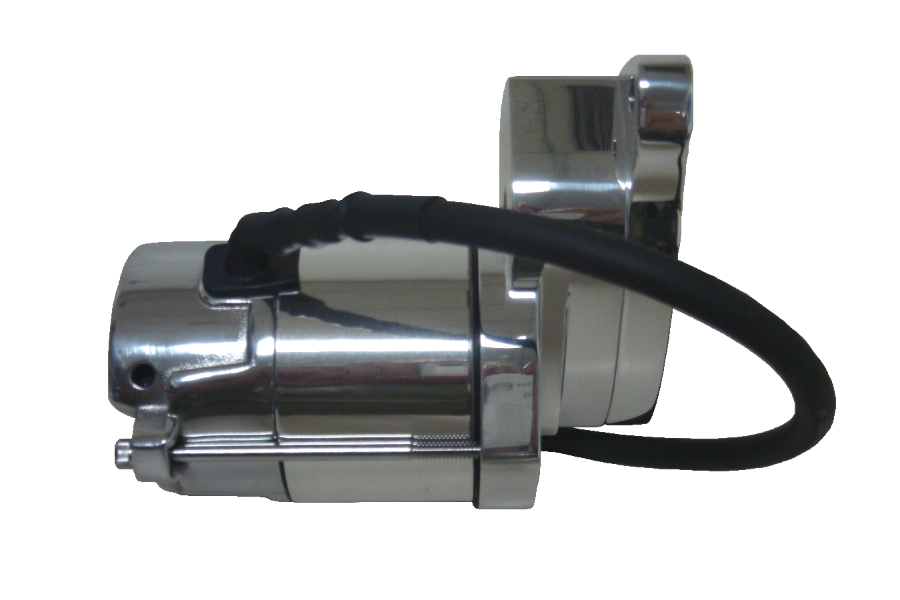 Spyke 407210 - Chrome 1.4 kW Starter for 86-88 Big Twin Harley® Models