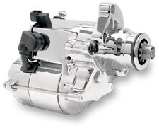 Compu-Fire 53800 - Chrome 1.6 kW Starter for 2006-17 Dynas and All 2007-17 Twin Cam Big Twin Harley® Models